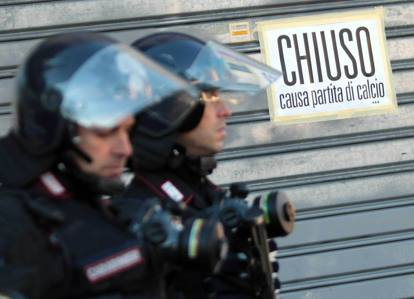 Città blindata per Atalanta-Inter
