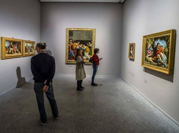 Musei boom di visite con la tessera alla carrara for Tessera musei lombardia