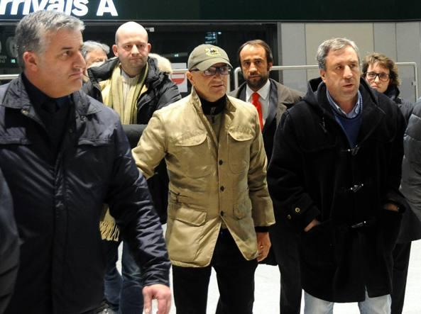 Corrado Fumagalli, 48 anni, a Malpensa