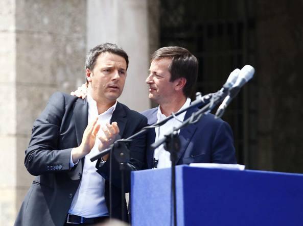 Renzi firma patto per Milano da 2,5 mld