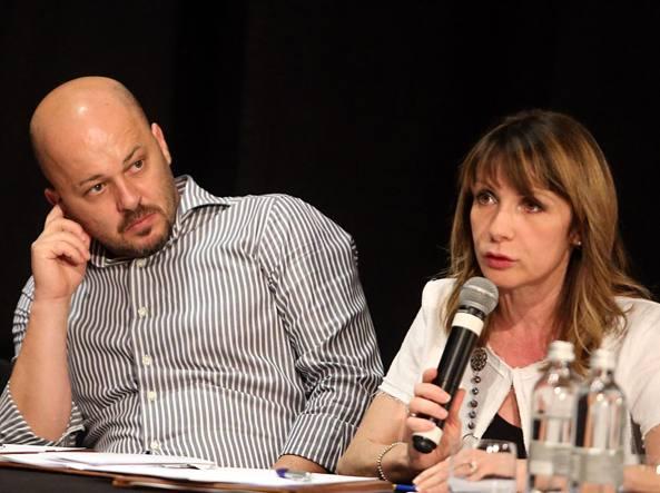 Erik Molteni e Laura Rossoni