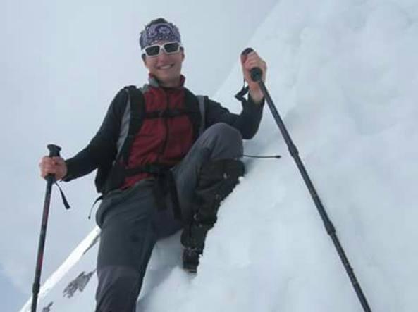 Einar Carrara oggi ha 24 anni. L'incidente, il 10 dicembre 2014