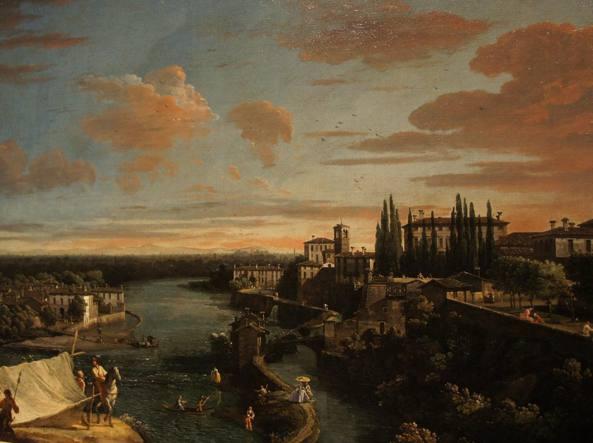 Le tele di bellotto nel 1744 vaprio canonica e l adda un for Mercatini bergamo e provincia oggi