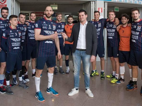 La squadra con Marco Arlati