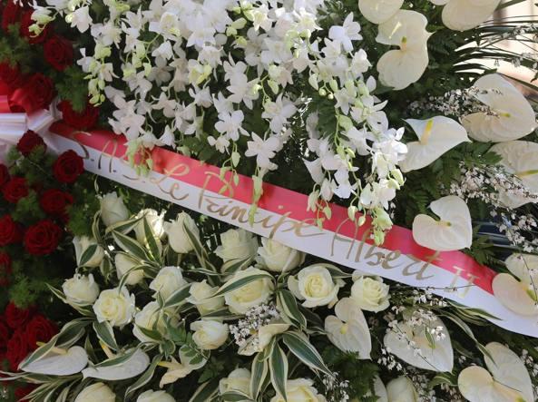 I fiori del principe Albert II