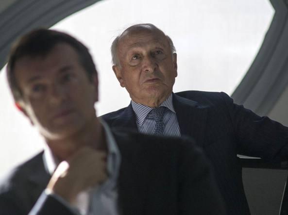 Giorgio Gori e Miro Radici (LaPresse/Sergio Agazzi)