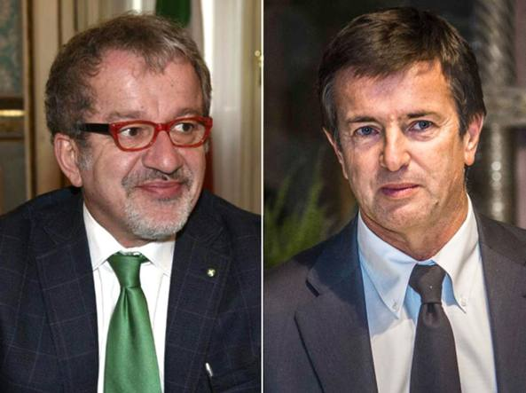 Roberto Maroni e Giorgio Gori
