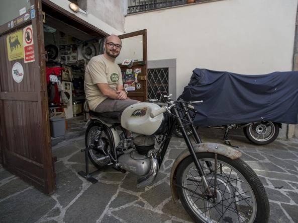 Bruno Finardi, ingegnere quarantenne di Bergamo (LaPresse/Sergio Agazzi)
