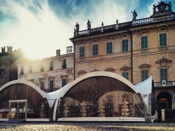 I preparativi a Mantova per il Festivaletteratura