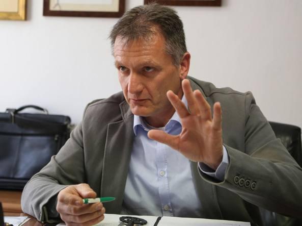 Il sindaco Luigi Carozzi