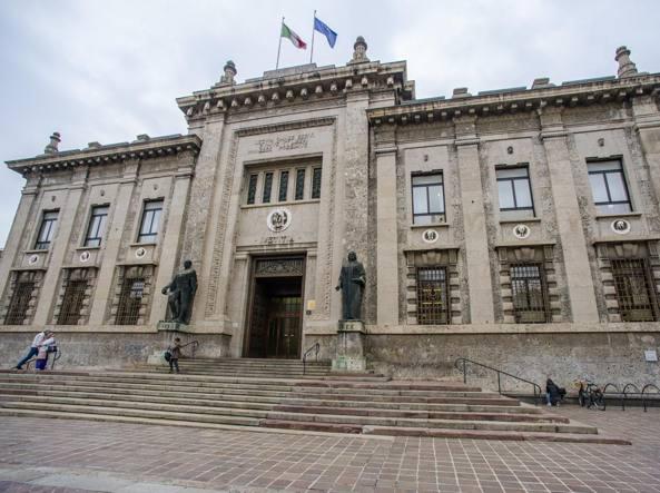Il palazzo della procura di Bergamo