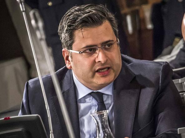 Il consigliere del M5S Fabio Gregorelli
