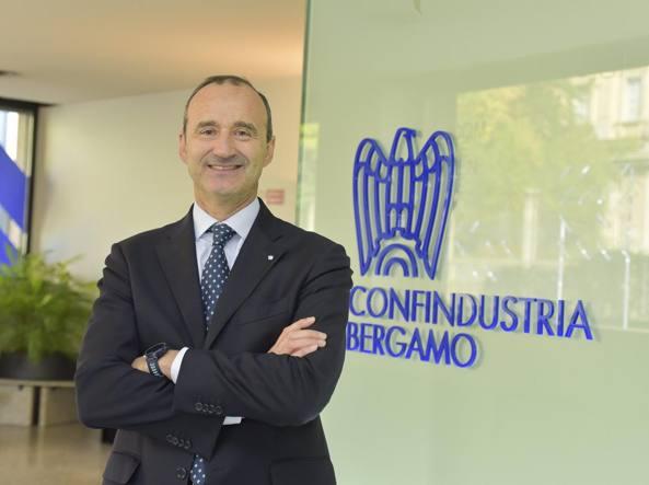Stefano Scaglia, presidente di Confindustria Bergamo