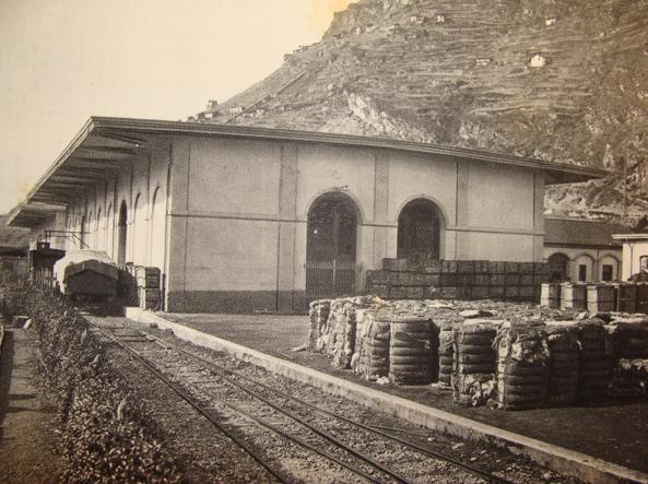 Il cotonificio Olcese risale al 1904