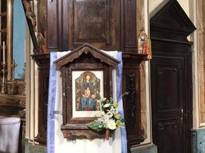 La Madonnina di Corbetta  riportata in chiesa di Olda