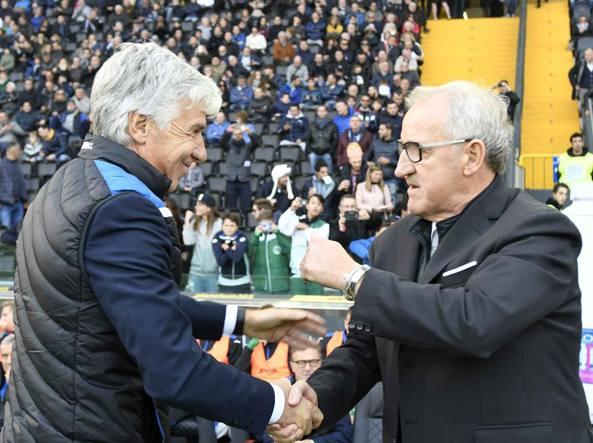 Gian Piero Gasperini e Luigi Delneri (LaPresse)