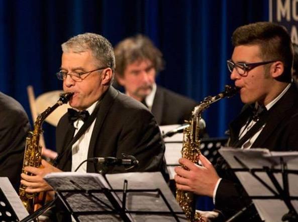 Da sinistra Gabriele Comeglio e Nicholas Lecchi in un concerto al Blu Note