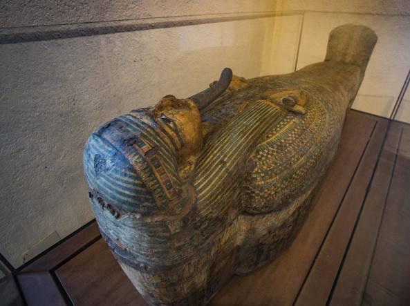 Il prezioso sarcofago del Museo Archeologico
