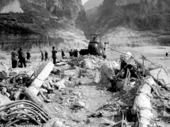 La prima tappa domenica 12 dicembre è dedicata al disastro del Vajont, il 9 ottobre 1963