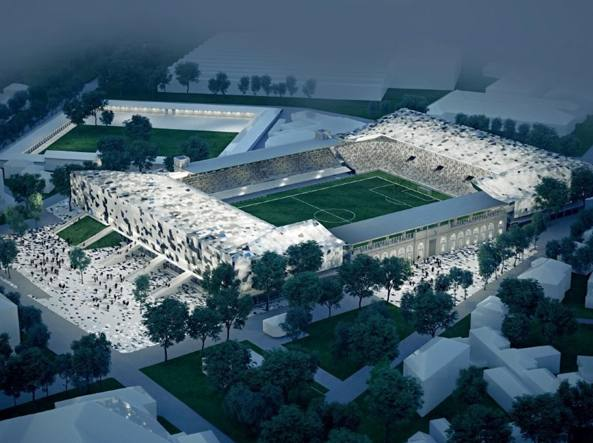 Come sarà il nuovo stadio