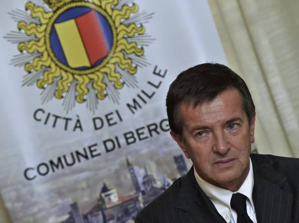Il sindaco Giorgio Gori (LaPresse/Tiziano Manzoni)