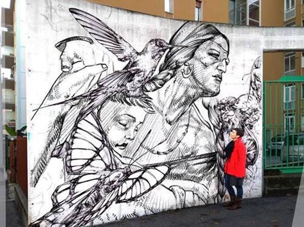 L'opera dedicata alla Madonna di Coronilla dal giovane artista boliviano