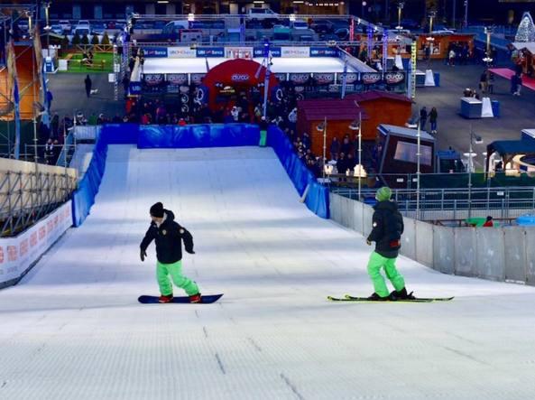 Snowboard a Oriocenter, nel Winter Park