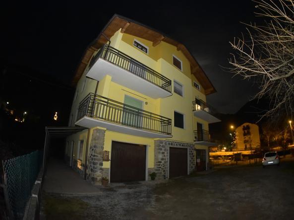 La casa dove erano ospitati i disabili