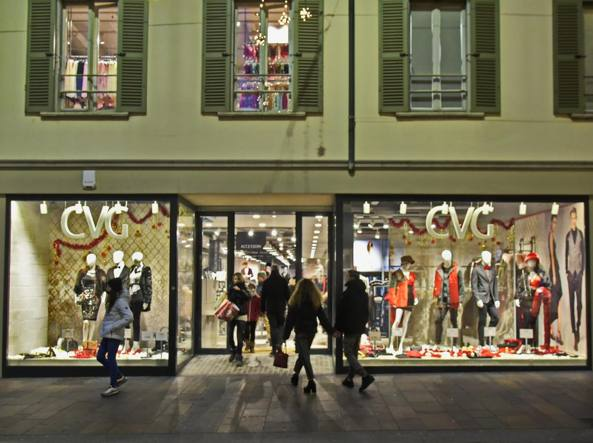 Lo store di Cvg in via XX Settembre (LaPresse/Manzoni)