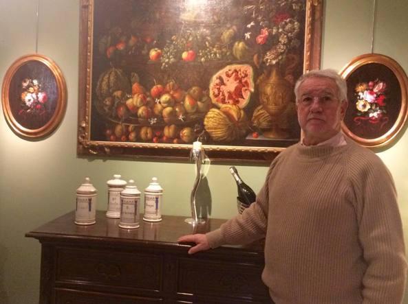 Giorgio Scaccabarozzi, 70 anni, ha una galleria in via Vittorio Emanuele II